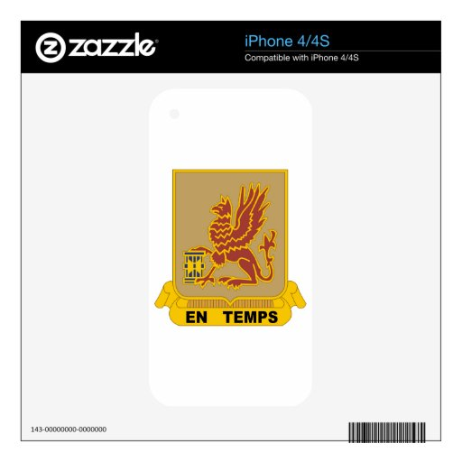 USA 28th Transportation Battalion Skins For iPhone 4