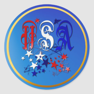 USA-2 con el pegatina de las estrellas