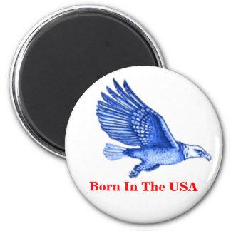 USA 2 INCH ROUND MAGNET