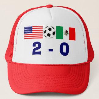 USA 2, Mexico 0 Trucker Hat
