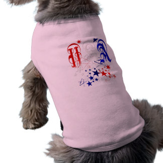USA-2 with Stars Pet Clothing
