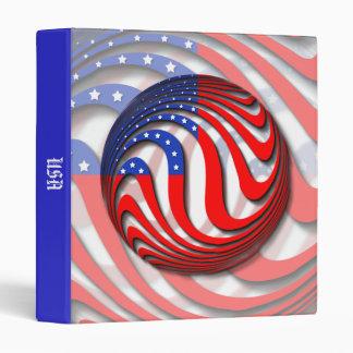 USA 3 RING BINDER