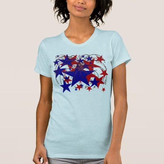USA 4th of July Stars Shirt - Customized