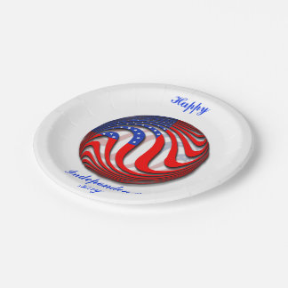USA 7 INCH PAPER PLATE