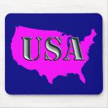 USA 8-petrol Mousepads