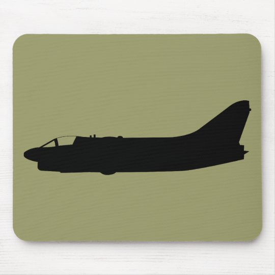 USA A7 Corsair Silhouette Mouse Pad