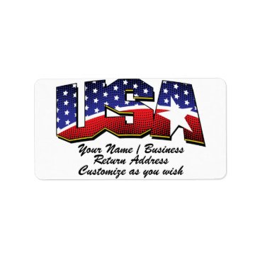USA Address Labels