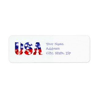 USA Address Return Labels