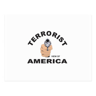 usa aims to kill terrorist postcard