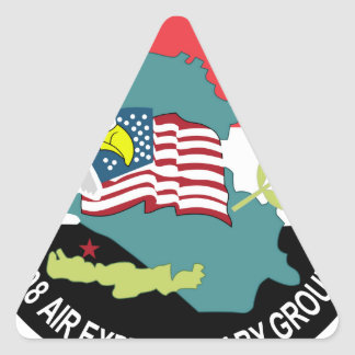 USA Air Force SSI 398th Air Expeditionary G Triangle Sticker