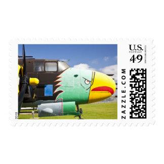 USA, Alabama, Mobile. Battleship Memorial Park, Postage Stamp