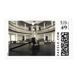 USA, Alabama, Monroeville. Home of writers Stamp