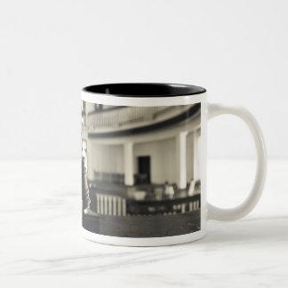 USA, Alabama, Monroeville. Home of writers Two-Tone Coffee Mug