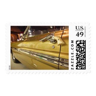 USA, Alabama, Tuscumbia. Alabama Music Hall of 3 Stamps