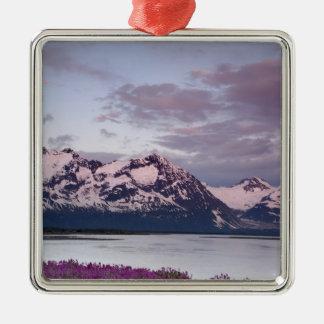 USA, Alaska, Alsek River Valley. View of Alsek Christmas Ornament