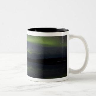 USA, Alaska, Arctic Circle, Bettles. The Two-Tone Coffee Mug