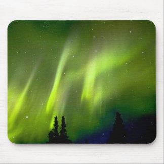 USA, Alaska, Chena Hot Springs. Aurora 3 Mouse Pads