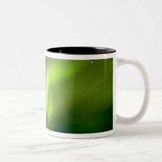 USA, Alaska, Chena Hot Springs. Aurora 3 Mugs