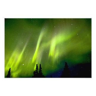 USA, Alaska, Chena Hot Springs. Aurora 3 Photo Art