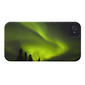 USA, Alaska, Chena Hot Springs. Aurora Borealis 2 iPhone 4 Case-Mate Case