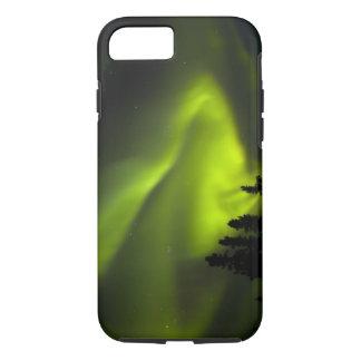USA, Alaska, Chena Hot Springs. Aurora Borealis 2 iPhone 7 Case