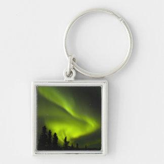 USA, Alaska, Chena Hot Springs. Aurora Borealis 2 Keychain