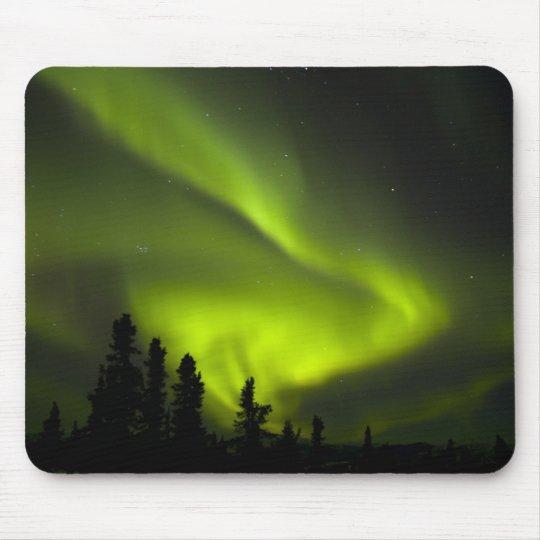 USA, Alaska, Chena Hot Springs. Aurora Borealis 2 Mouse Pad