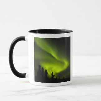 USA, Alaska, Chena Hot Springs. Aurora Borealis 2 Mug