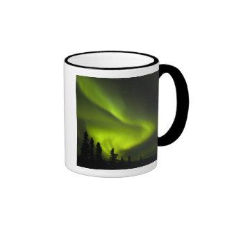 USA, Alaska, Chena Hot Springs. Aurora Borealis 2 Mugs