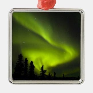 USA, Alaska, Chena Hot Springs. Aurora Borealis 2 Christmas Tree Ornament