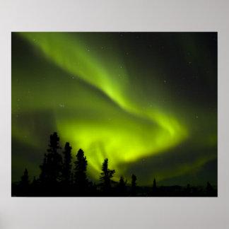 USA, Alaska, Chena Hot Springs. Aurora Borealis 2 Posters