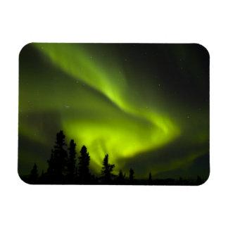 USA, Alaska, Chena Hot Springs. Aurora Borealis 2 Vinyl Magnet