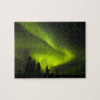 USA, Alaska, Chena Hot Springs. Aurora Borealis 2 Puzzle