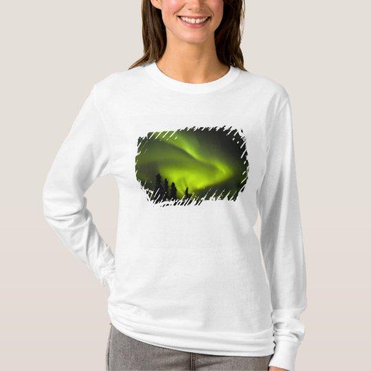 USA, Alaska, Chena Hot Springs. Aurora Borealis 2 T-Shirt