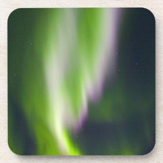 USA, Alaska, Chena Hot Springs. Aurora Borealis Beverage Coasters