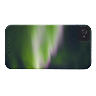 USA, Alaska, Chena Hot Springs. Aurora Borealis iPhone 4 Case-Mate Case