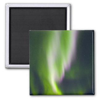 USA, Alaska, Chena Hot Springs. Aurora Borealis Magnet