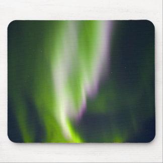 USA, Alaska, Chena Hot Springs. Aurora Borealis Mouse Pad
