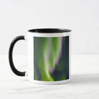 USA, Alaska, Chena Hot Springs. Aurora Borealis Mug