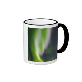 USA, Alaska, Chena Hot Springs. Aurora Borealis Coffee Mug