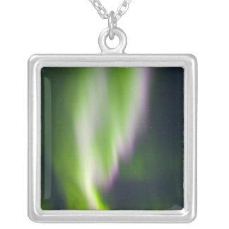 USA, Alaska, Chena Hot Springs. Aurora Borealis Custom Necklace
