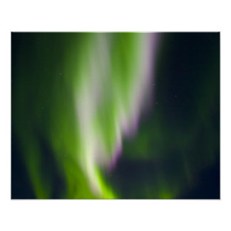 USA, Alaska, Chena Hot Springs. Aurora Borealis Poster