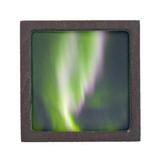 USA, Alaska, Chena Hot Springs. Aurora Borealis Premium Trinket Boxes