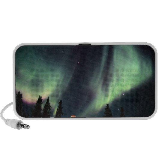 USA, Alaska, Chena Hot Springs. Aurora Mini Speaker