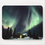 USA, Alaska, Chena Hot Springs. Aurora Mouse Pad