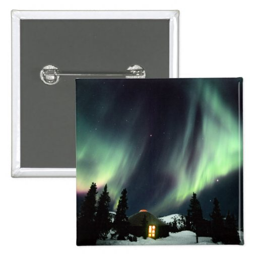 USA, Alaska, Chena Hot Springs. Aurora Pins