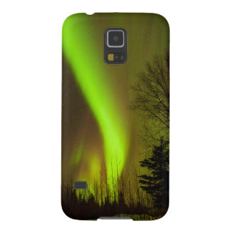 USA, Alaska, Chena Hot Springs. View Of Aurora Cases For Galaxy S5