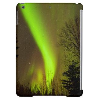 USA, Alaska, Chena Hot Springs. View Of Aurora iPad Air Cover