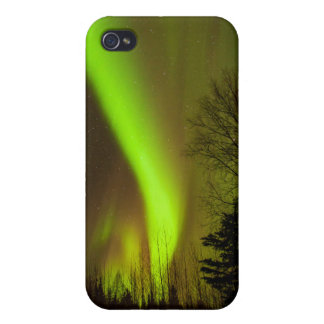 USA, Alaska, Chena Hot Springs. View Of Aurora iPhone 4/4S Cover
