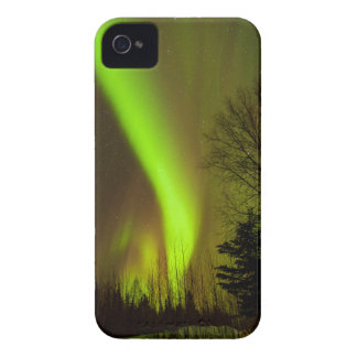 USA, Alaska, Chena Hot Springs. View Of Aurora iPhone 4 Case